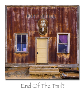 180528 End of the Trail