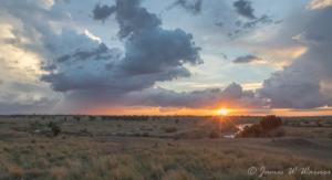 JW-African Sunset