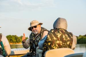 032-Master Jim in river, Pantanal