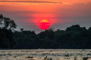 044-Sunset river in Pantanal